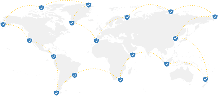 VPN Mapa Global